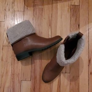 Style & Co. Fur Trim Boots